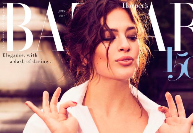 ashley-graham-modelo-curvy-talla-grande-portada-harpers-bazaar-uk-body-positive-mujer-modelaje-entrevista-gabilu-mireles-fat-gab-blogger-curvas-gorda-amor-propio-mexicana